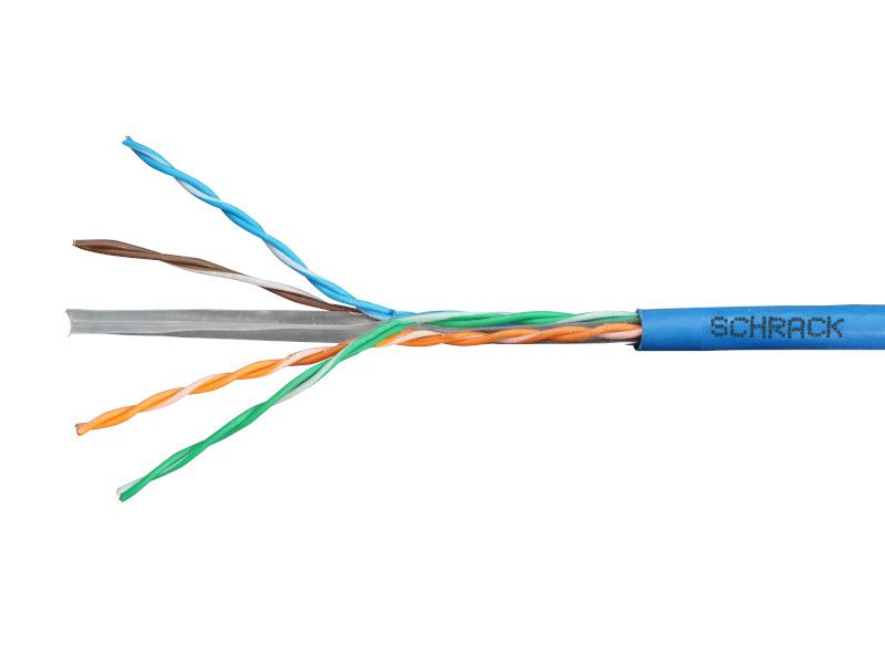 KABL U/UTP Cat 6 300Mhz, 4X2XAWG-23 HSKU423P15 SCHRACK